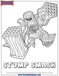 skylanders thumpback coloring pages   Skylanders Giants ...