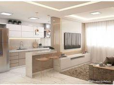 Kitchen Room Design, Modern Kitchen Design, Home Decor Kitchen, Modern House Design, Small Apartment Interior, Modern Home Interior Design, Dream Home Design, Bedroom Built In Wardrobe, Kitchen Layout Plans
