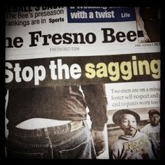 Front page news? Only in Fresno....