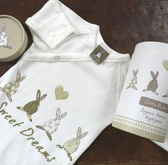 Rufus Rabbit Organic Nightgown - - A great range of Rufus Rabbit Organic Nightgown - FREE Delivery over Gifts For New Mums, Unisex Gifts, Baby Girl Gifts, Night Gown, Organic Cotton, Chef Jackets, Kids Outfits, Barn, Rabbit