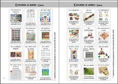 """Défis """"Le langage dans toutes ses dimensions"""" - La classe de Marion French Worksheets, Cycle 1, Montessori Math, Kids Learning, Homeschool, Journal, Dimensions, Plans, Pirates"""