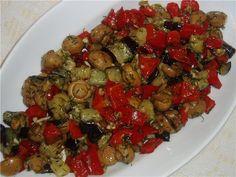 Салат из баклажан «Тёплый» : Салаты