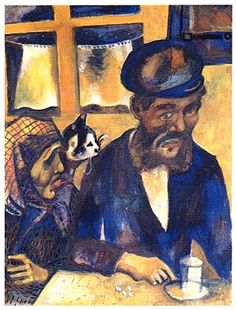 Marc Chagall -The Artist's Father ,1914