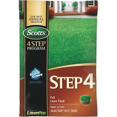 """Check out """"Scotts 4 Step Program Step 4 Fall Lawn Fertilizer"""" from Do it Best"""