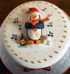 10 Cute Christmas Cake Ideas You Must Love