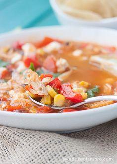 Tex Mex BBQ Chicken Soupmain2