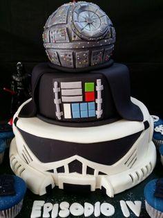 Cake Star Wars Pastel Darh Vader