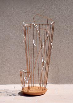 """Categoria studenti, menzione d'onore: Eve Garandeau, con il progetto """"Memori"""". Glass Vase, Home Decor, Decoration Home, Room Decor, Home Interior Design, Home Decoration, Interior Design"""