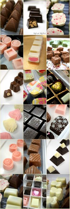 Home made chocolates~^^