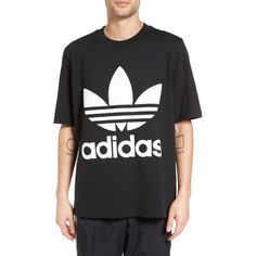 Men s Adidas Originals Ac Boxy Oversize T-Shirt (11.670 HUF) ❤ liked on  Polyvore featuring men s fashion 5b52e7ef47