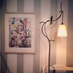Babyroom. Picture : Anne Angelshaug. Love it!! Welding Ideas, Old And New, Baby Room, My House, Castle, Interior, Pictures, Painting, Art