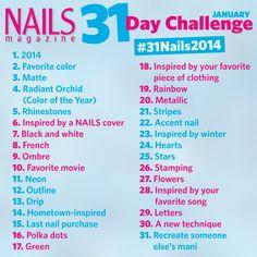 Mani Monday: #31Nails2014   Salon Fanatic