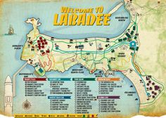 Labadee - Royal Caribbean's Map