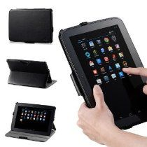 Acase offer Acase Google Nexus 10 Case - Leather Case Folio with multi view Stand & Wake/Sleep Function (BLACK). This awesome product currently limited units, you can buy it now for $59.99 $9.94, You save $50.05 New