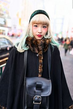 Green & Blonde, Harajuku // Tokyo Fashion, January 2013