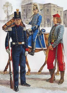 """Georgia Volunteer Militia, 1861: • Baldwin Blues • Georgia Hussars • Thomasville Zouaves"", Richard Hook"
