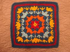 Catalina Afghan Square - free pattern from Ravelry