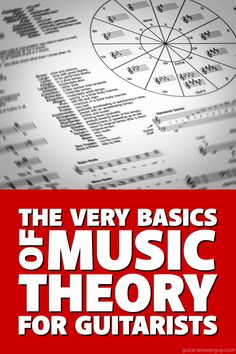 Learn the very basics of #music theory for #guitar. Includes practice exercises