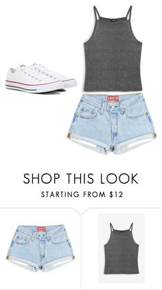 """""""Untitled #23"""" by sandracneves on Polyvore featuring Monki and Converse"""