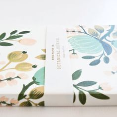 Quill London | Botanical notebook by Rifle Paper Co. | Floral journal designed by Anna Bond by Quill London