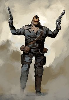 Discover the art of Guillaume Menuel, who's currently Concept Artist at Ubisoft Montreal, and who's recently worked on 'For Honor'. Apocalypse World, Apocalypse Art, Character Concept, Character Art, Concept Art, Apocalypse Character, Arte Nerd, Fallout Art, Westerns