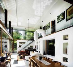 Double Height Living Space