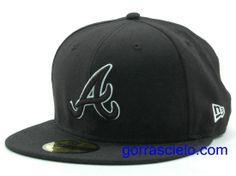 Comprar Baratas Gorras Atlanta Braves Fitted 0080 - Gorrascielo.com