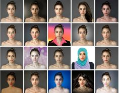 Meet the woman who asked 25 countries to make her beautiful.
