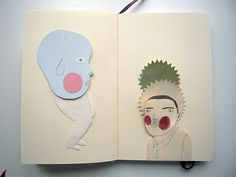 notebook by Camilla Engman, via Flickr