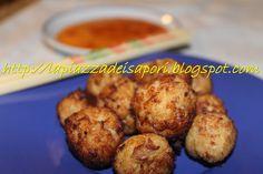 Polpette cinesi di branzino aromatizzate alla salsa di soia - Chinese dumplings sea bass flavored with soy sauce