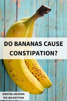 I am often asked 'do bananas cause constipation?' and bananas also be high in FODMAPs? I explain whether bananas help or worsen constipation. Ibs Flare Up, Fodmap Diet, Low Fodmap, Ibs Symptoms, Ibs Diet, What Can I Eat, Feeling Frustrated, Irritable Bowel Syndrome, Dietitian