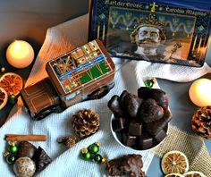 Food : Lebkuchen Truhe als Geschenk #lebkuchen #geschenke # advent #spieluhr #weihnachten