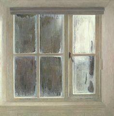 "Jan van der Kooi ""dead of winter, dawn"" - 2011 - oil on panel"