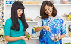 The celebrity food-blogging sisters disclose their secret weapon in the battle   against sugar