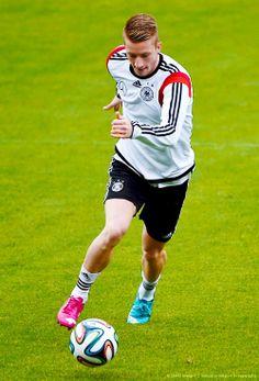 Marco Reus training