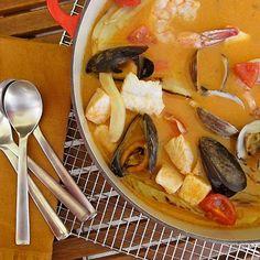 Brodetto-Italian fish soup