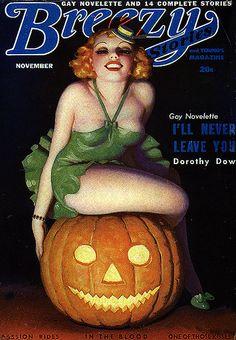 Breezy Stories Halloween magazine