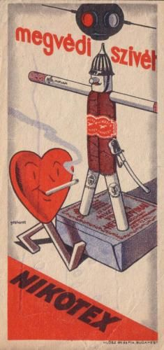 Nikotex cigarettes save your heart!