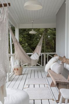 Come read about our home and Treehouse + Cabin Retreat, featured in Grey County Ontario. Find out why we love living here. It will Inspire you to think outside the city . Home Fashion, Ideas Terraza, Not Perfect Linen, Treehouse Cabins, Firefighter Decor, House Rules, Outdoor Furniture, Outdoor Decor, Hammock