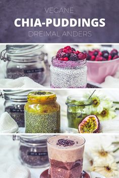 Rote Bete Chia-Pudding mit Waldbeeren-Topping