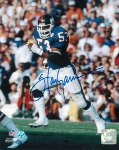 Harry Carson New York Giants Autographed 8x10 Photo
