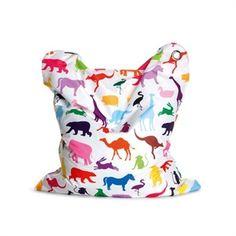 CASANOVA Møbler — New Sitting Bull Fashion MINI - Sækkestol - Happy Zoo