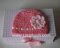 Double Crochet Baby Beanie Hat Pattern 12-18 months (1- 1 1/2 year Old) FREE Crochet Pattern