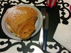 A giant croissant! O.O