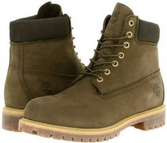 Timberland Boots Green
