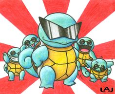 Squirtle Squad for the win.