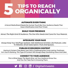 Here are few tips of how to reach your audience organically.  Most Strategist makes an idea that the channel will get the reach only via paid ads or through Paid Campaigns.  But that's not really True! All companies start their campaign through Organic Platform and when that campaign takes a really good jump.  Then Companies try to take that post to a paid campaigns.For more interesting Facebook post updates follow our Social Media Channels and subscribe to our Website. Social Media Branding, Social Media Marketing, Post Time, Social Media Channels, To Reach, Campaign, Platform, Student, Organic