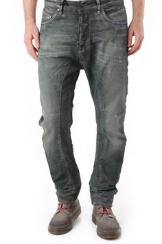 Jeans Uomo Absolut Joy (VI-P2536) colore Verde
