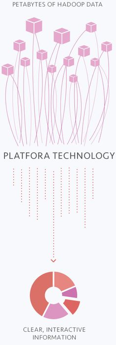 """Platfora helps to democratize and simplify your Hadoop analytics system.  Good news: """". . . our platform eliminates the need for traditional data warehouses, ETL tools and the legacy BI products of the past"""".  Transform Hadoop datasets into enterprise dashboards with multidimensional layouts, drill-down possibilities and predictive analytics and to generate big data insights."""