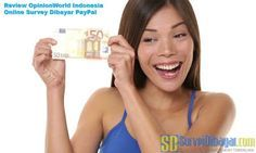 Review OpinionWorld  Review OpinionWorld Indonesia Online Survey Dibayar PayPal | SurveiDibayar.com Survey Sites That Pay, Online Survey, Dna, Paid Surveys, Projects To Try, Internet Marketing, Advertising, Online Marketing